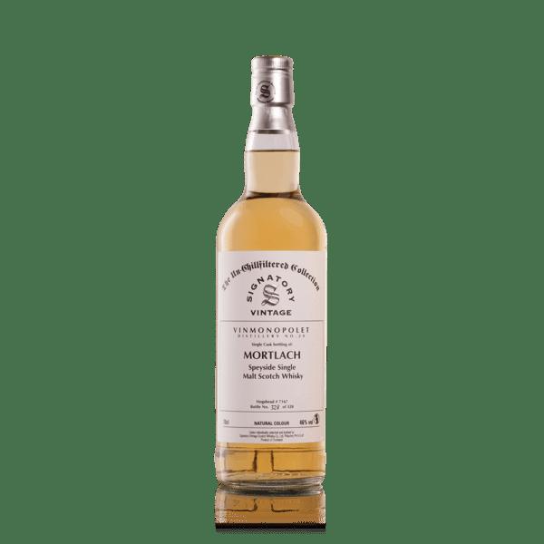 Distillery No. 20. Mortlach